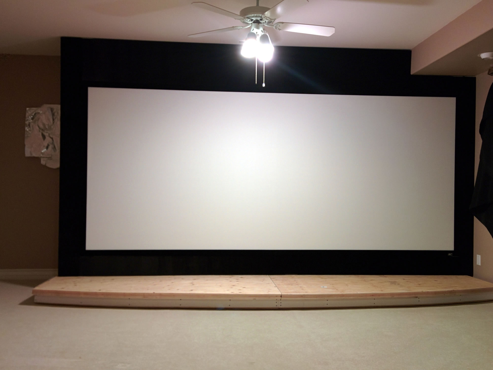 Home Theater - Stage and Screen Build Out — Travis Emmel